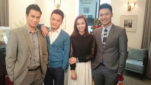 Ba nam diễn viên điển trai Việt Anh, Hồng Đăng và Mạnh Trường sẽ là bạn diễn của Lã Thanh Huyền trong phim.
