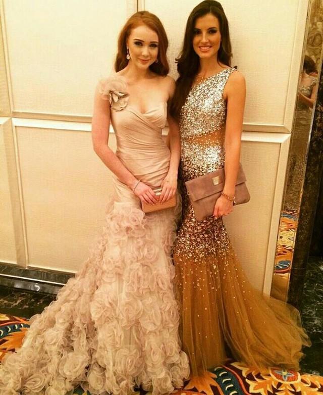 Cận cảnh nhan sắc của các thí sinh Hoa hậu Thế giới 2015 tại buổi tiệc