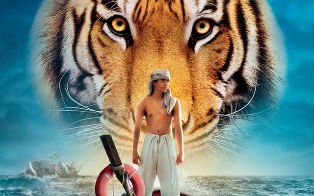 Con hổ trong phim Life of Pi hoàn toàn được dựng bằng kĩ thuật 3D.