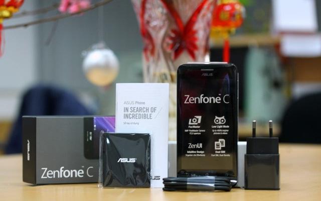 ASUS ZenFone C chỉ còn được bán với mức giá 2.190.000 VNĐ