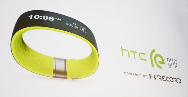 Vòng tay theo dõi sức khỏe HTC Re Grip