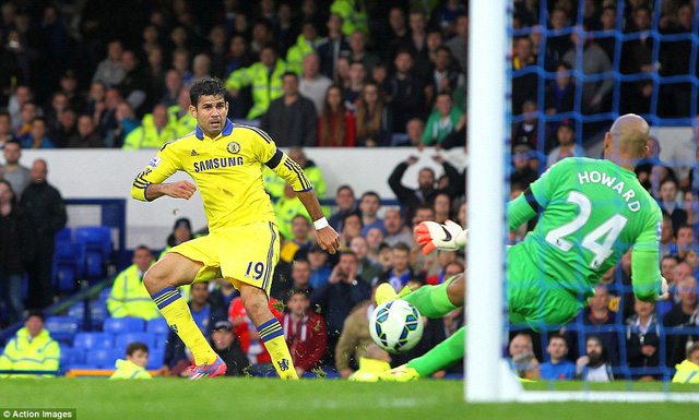 Chelsea đã đánh bại Everton 6-3 tại trận lượt đi ở mùa giải năm nay