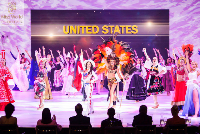 Màn trình diễn Các điệu nhảy của thế giới