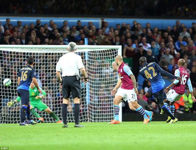 Man City đã đánh bại Aston Villa với tỷ số 2-0 tại trận lượt đi