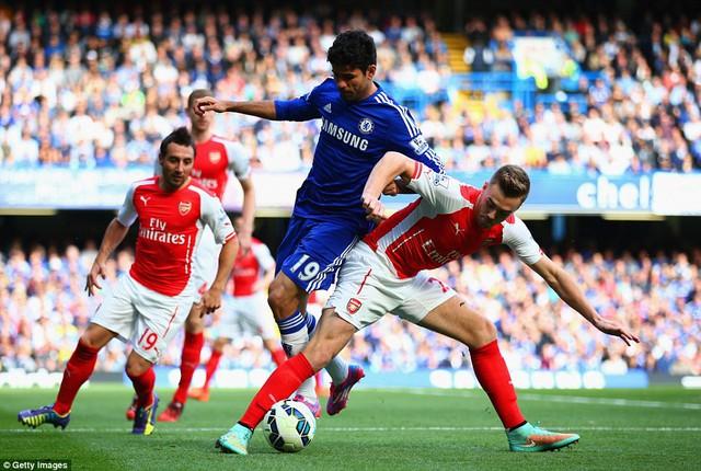 Đã quá muộn để Arsenal có thể bám đuổi được Chelsea