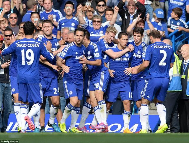 Chelsea chỉ còn cách chức vô địch 2 trận thắng