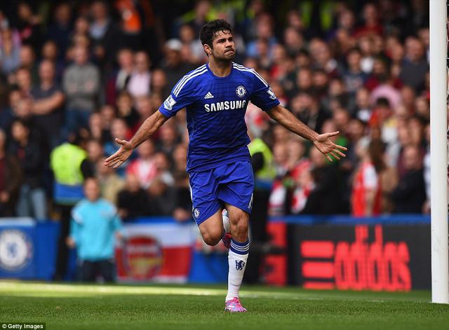 Khả năng ra sân của Diego Costa đang bị bỏ ngỏ?