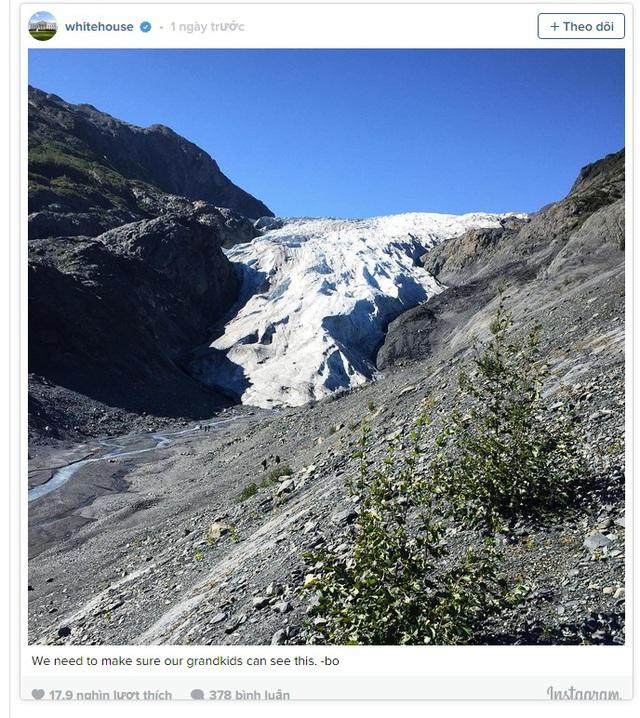Alaska với tuyết trắng bao phủ trước đây