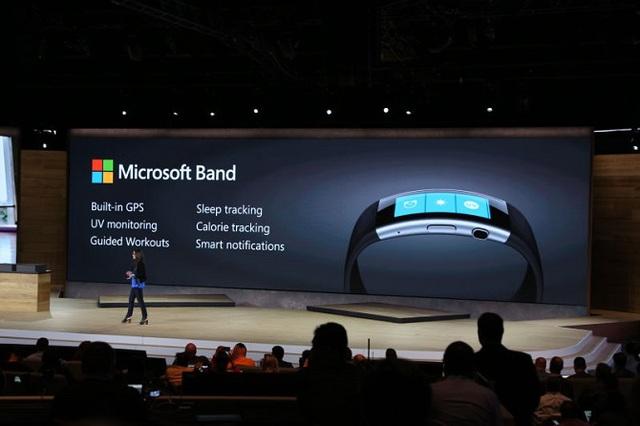 Những tính năng mới trên Microsoft Band mới