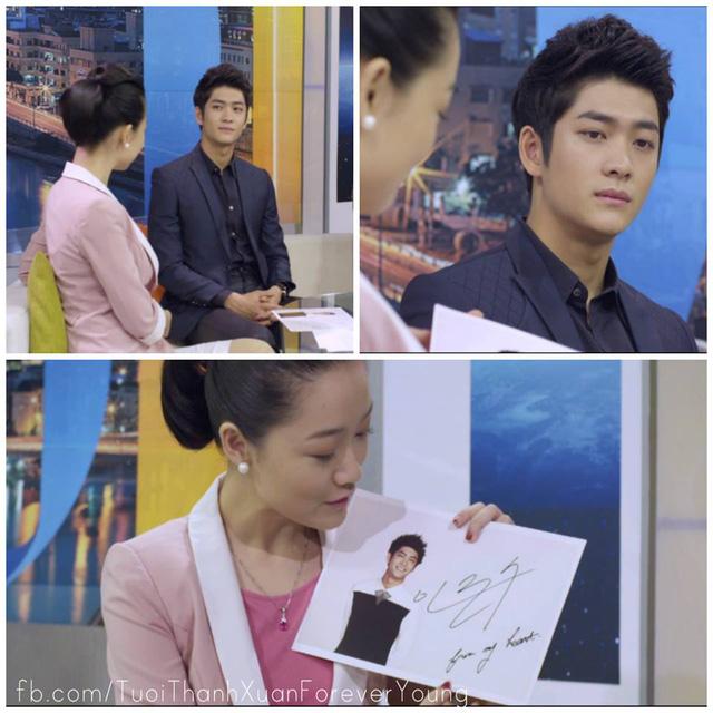 Junsu trên trường quay Cuộc sống thường ngày trong phim.