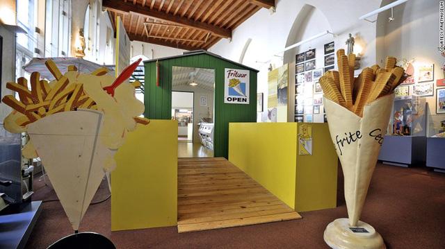 Bảo tàng khoai tây rán tại Bỉ.
