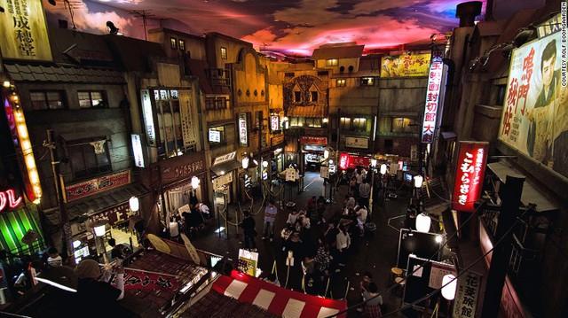 Bảo tàng mì Ramen tại Yokohama, Nhật Bản.