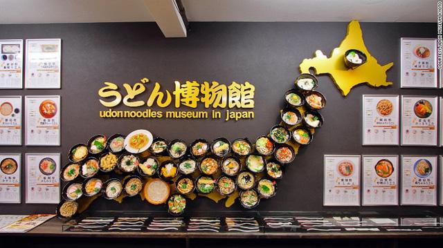 Bảo tàng mì Udon tại Kyoto, Nhật Bản.