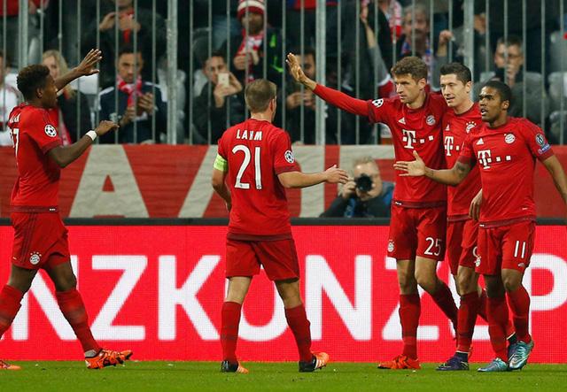 ... và kết q là 1 trận thua tan tác trước Bayern Munich.