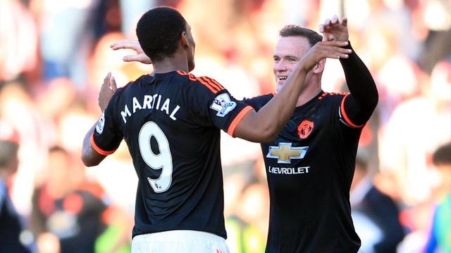 Cả Martial và Rooney đều sẽ vắng mặt ở cuộc đấu sắp tới với Watford