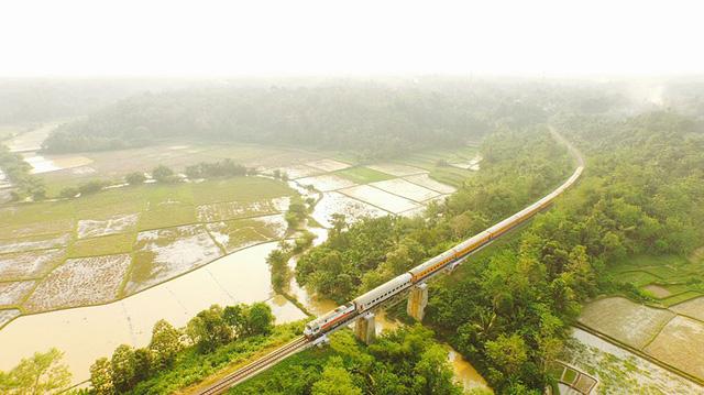 Quang cảnh bình yên ở khu vực Serang - Banten
