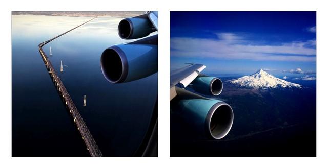Quang cảnh nhìn từ trên phi cơ