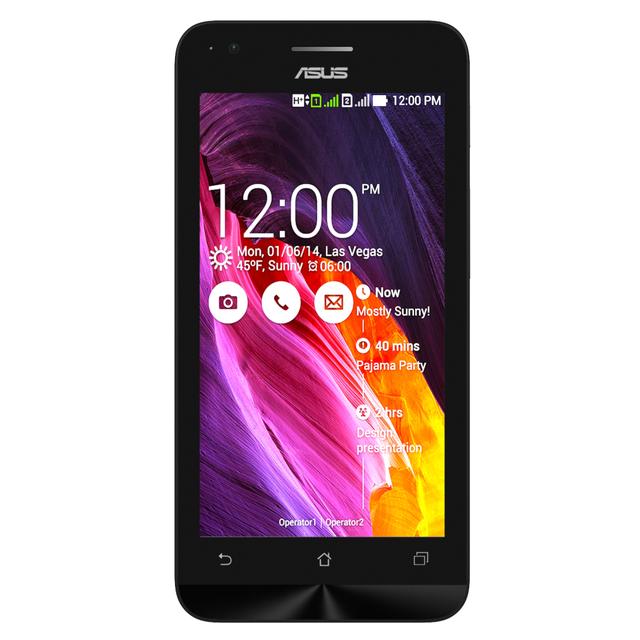 ZenFone C sở hữu màn hình 4,5 inch và chỉ dày 10,9 mm