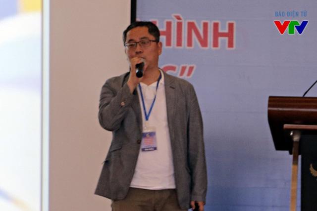 Ông Chan Soo Koh, đại diện của Đài KBS Hàn Quốc tại buổi hội thảo