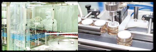 Dây chuyền sản xuất hiện đại theo tiêu chuẩn Châu Âu của kem Sắc Ngọc Khang