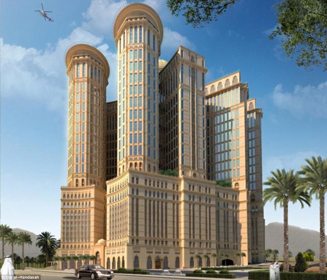 Ả Rập Xê-út gây sốc với dự án khách sạn khổng lồ 10.000 phòng