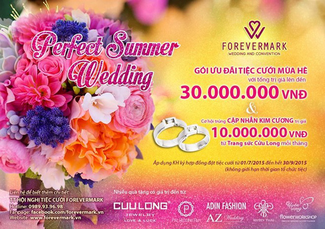 Tổng giá trị gói ưu đãi của Forevermark lên tới 30 triệu đồng. (Ảnh: Zing)