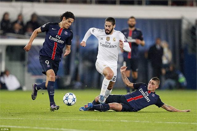 Trên sân nhà, Real được kỳ vọng sẽ đánh bại đối thủ đến từ nước Pháp