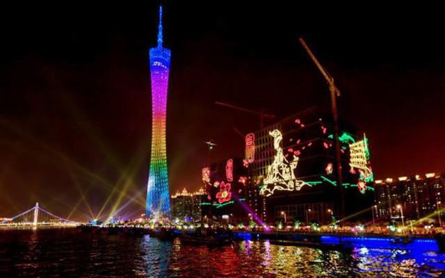 Tháp Quảng Châu, Trung Quốc cao 600m, khánh thành năm 2010 - Ảnh: xcitefun.net