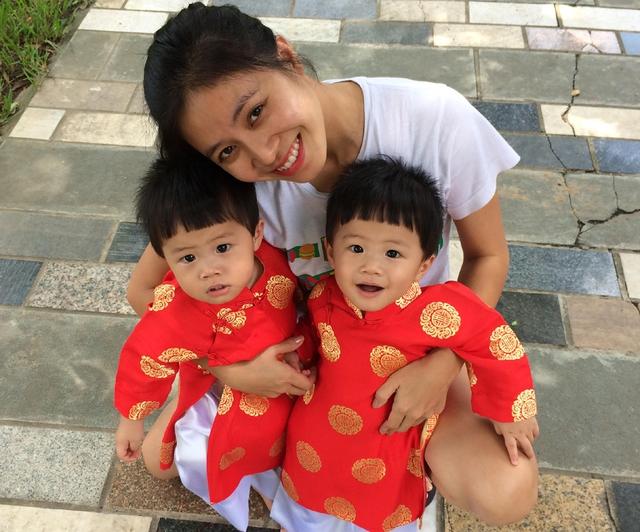Hai cục cưng của MC Hoàng Linh