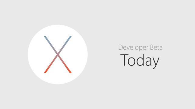 Phiên bản dành cho các nhà phát triển chính thức ra mắt từ hôm nay