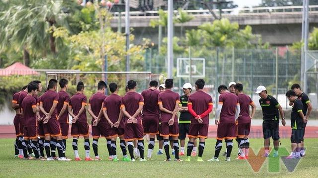 U23 Việt Nam đã sẵn sàng cho trận đấu gặp U23 Myanmar