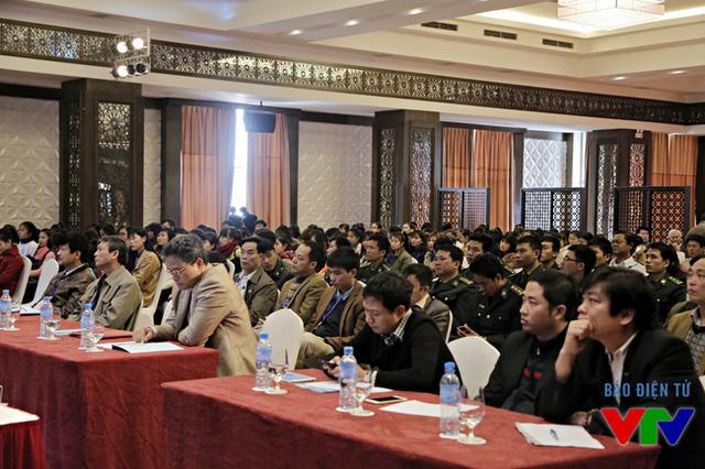 Nhiều đại biểu dự LHTHTQ 35 tham dự diễn đàn