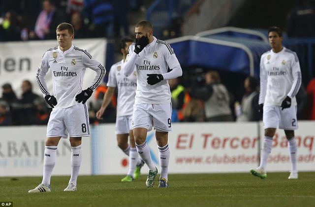Real Madrid có trận thua thứ 2 liên tiếp trong năm 2015
