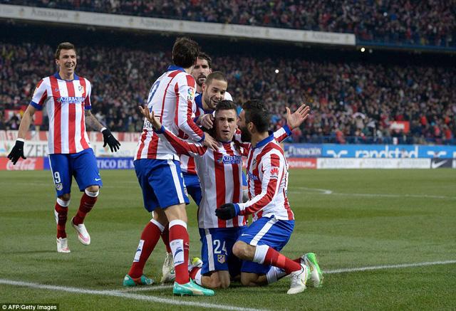 Atletico Madrid đang cực kỳ hưng phấn