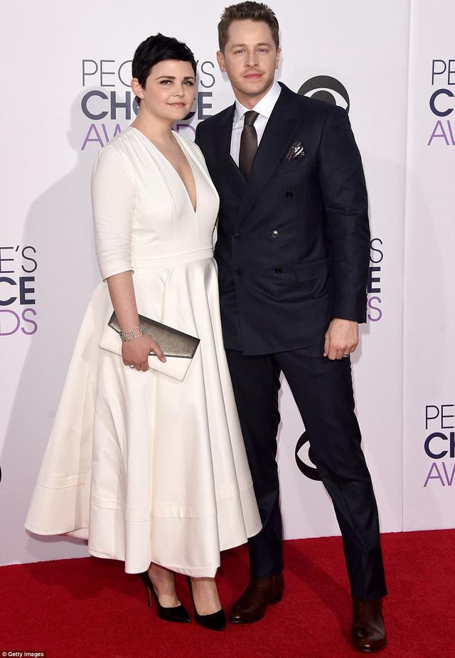 Nữ diễn viên Ginnifer Goodwill và chồng Josh Dallas