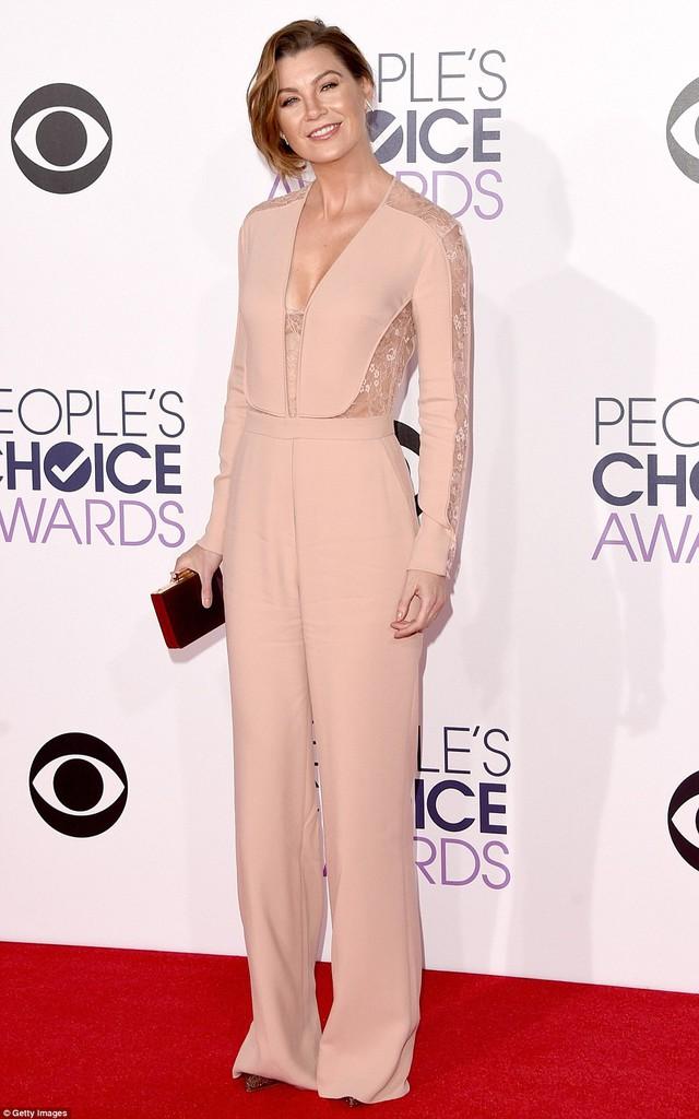 Ngôi sao The Greys Anatomy - Ellen Pompeo