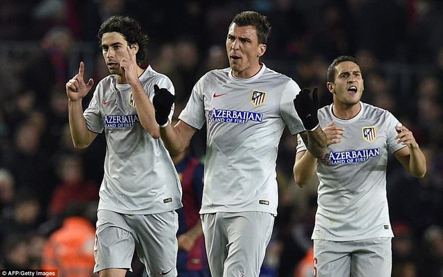 Tiền đạo Mandzukic cùng các đồng đội có trả được món nợ cho Atletico Madrid?