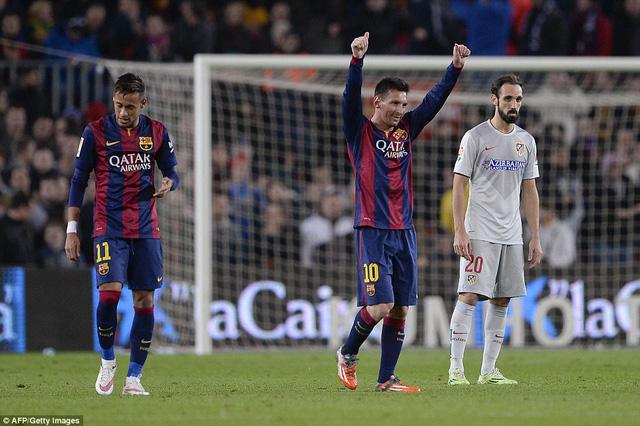 Lionel Messi tiếp tục là ngôi sao sáng nhất trong chiến thắng của Barcelona