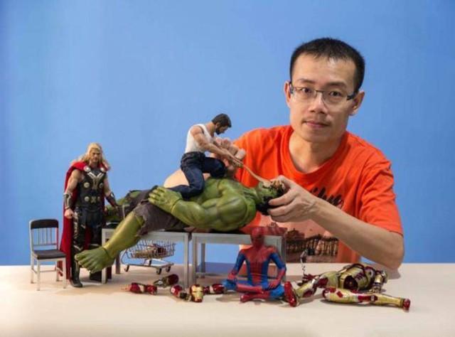 Edy Hardjo dàn cảnh cho các siêu anh hùng