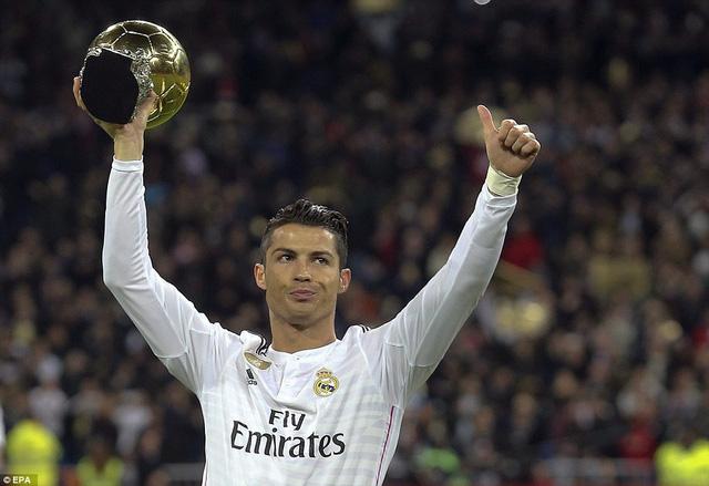 Quả bóng vàng FIFA 2014, Cris Ronaldo chỉ giúp Real Madird có được một trận hòa danh dự