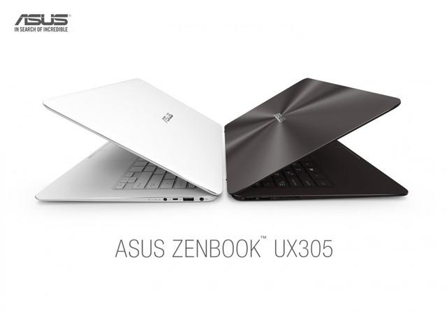 ZenBook UX305 có độ mỏng chỉ 12,3 mm