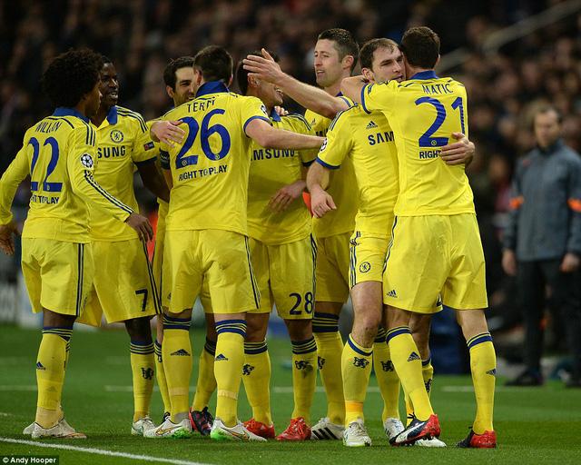 Một trận hòa không có bàn thắng là đủ giúp Chelsea vượt qua PSG