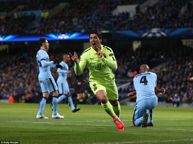 Suarez sẽ tiếp tục ghi bàn vào lưới Man City?
