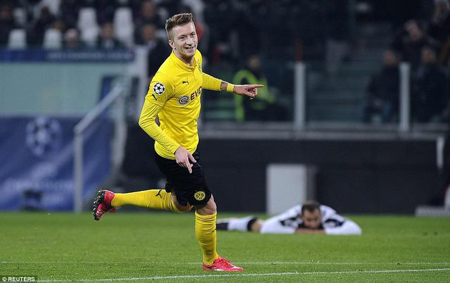 Marco Reus  ghi bàn thắng duy nhất cho Borussia Dortmund