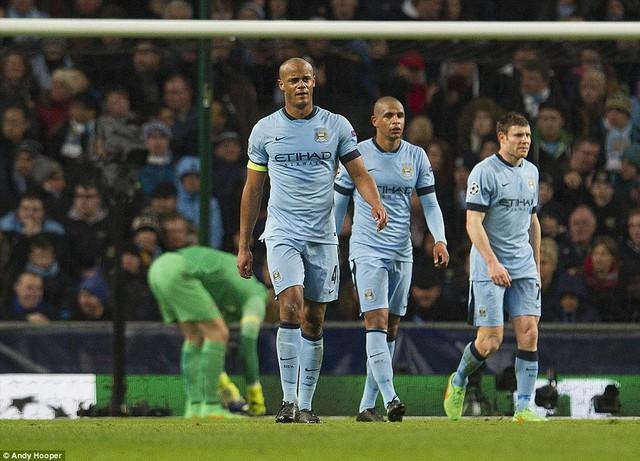 Hàng thủ Man City đã có một ngày thi đấu tệ hại