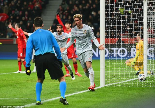 Torres đưa được bóng vào lưới đối phương tuy nhiên bàn thắng không được công nhận.