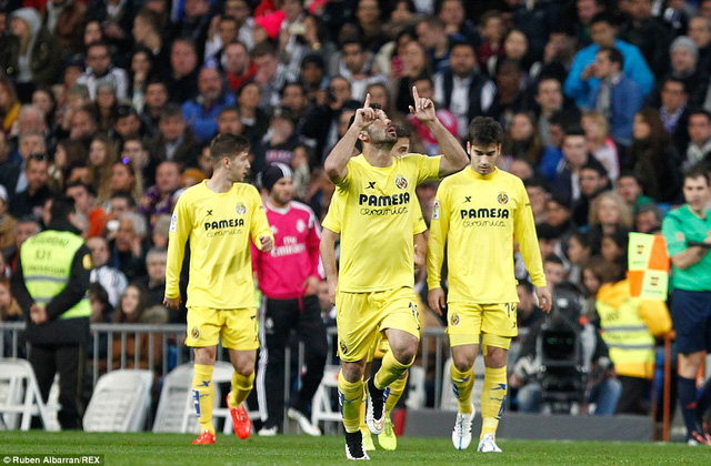 Gerard Moreno mang về 1 điểm cho Villarreal
