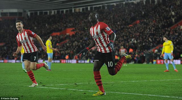 Sadio Mane mang vế chiến thắng tối thiểu cho Southampton