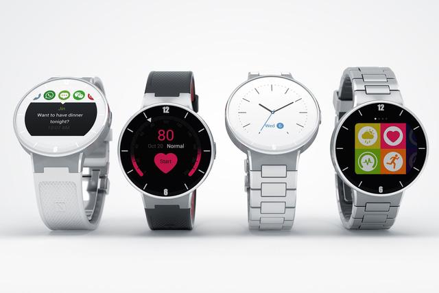 Chiếc đồng hồ thông minh OneTouch Watch sẽ được Alcatel giới thiệu trong CES 2015
