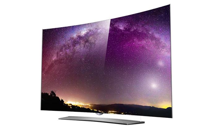 TV OLED 4K EG9600 màn hình nổi, cong của LG